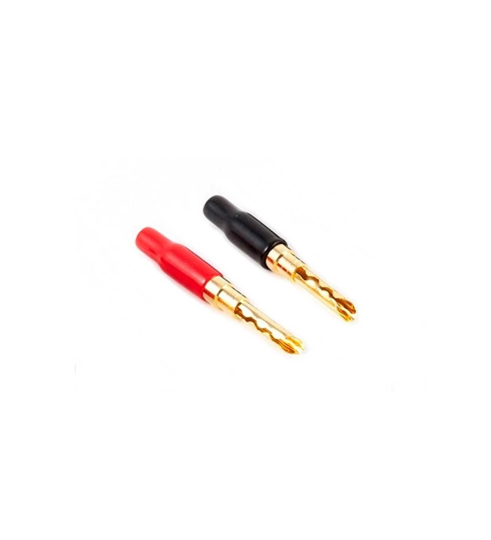 Black Rhodium Gold Platted Z Plugs